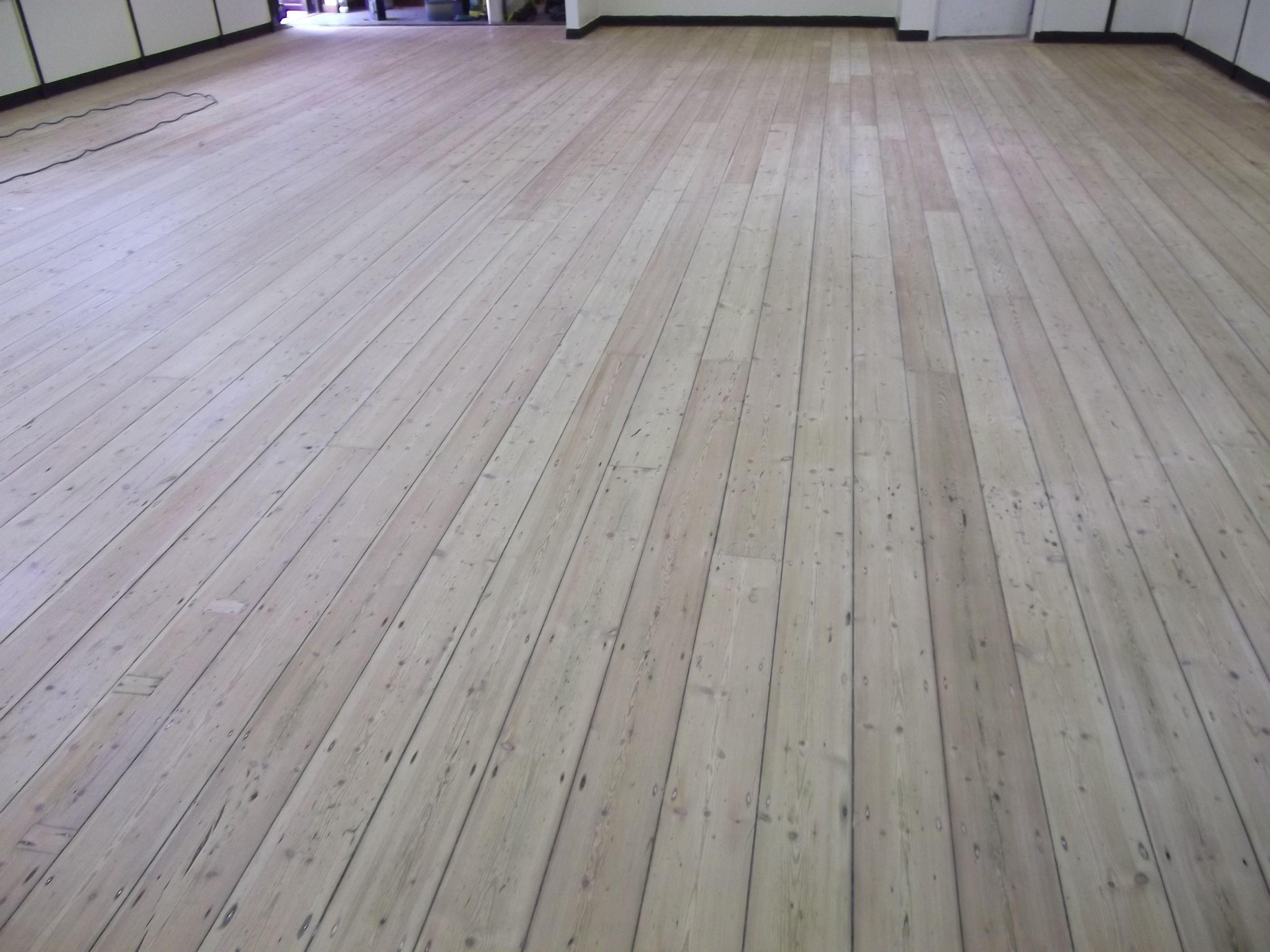 Unpainted Pine Flooring