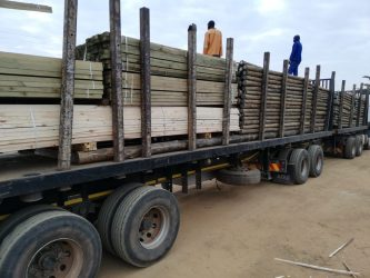 LynnRidge Timbers Gum Poles Load