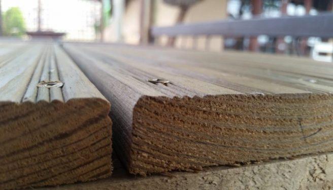 CCA Pine decking 1